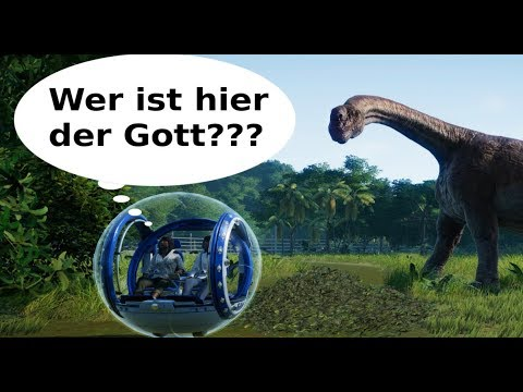 🦕 Jurassic World Evolution 🦖 Gyrospheres & Third Person Modus? [deutsch]
