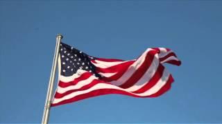 USA US Flag Waving