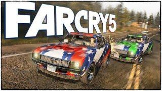 ГОНКИ на мустангах в Far Cry 5. Победитель получает новую тачку. (Far Cry 5 кооператив #3)