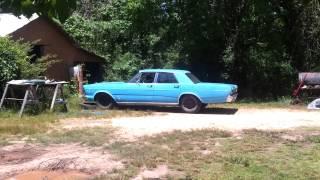 1966 Galaxie 500 Burnout