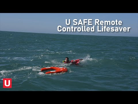 The U Safe Is a Remote-controlled Life Preserver