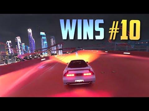 Racing Games WINS Compilation #10 (Accidental Wins, Drifts, Stunts & Close Calls) [10MIN SPECIAL]