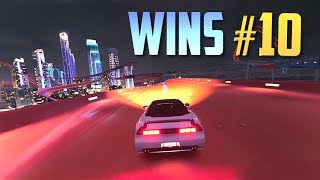 Racing Games WINS Compilation #10 (Accidental Wins, Drifts, Stunts & Close Calls) [10MIN SPECIAL]