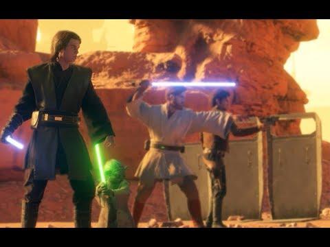 Star Wars Battlefront 2 Heroes Vs Villains 649 Anakin Skywalker Gameplay thumbnail