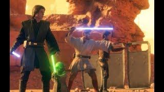 Star Wars Battlefront 2 Heroes Vs Villains 649 Anakin Skywalker Gameplay