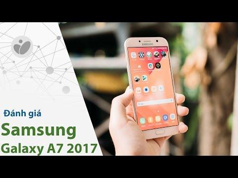 Đánh giá Samsung Galaxy A7 2017