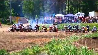 Motocross In Bomsdorf/oranienbaum