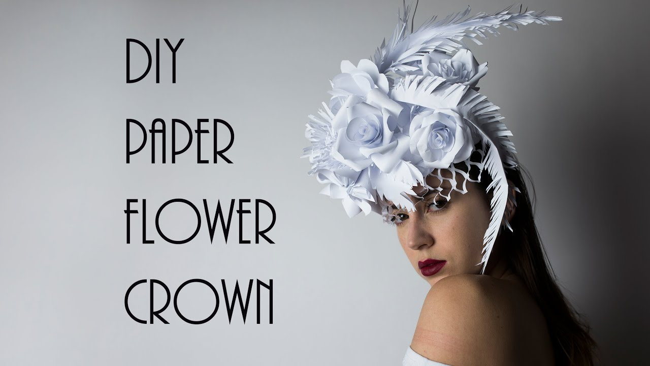 How to Make A Floral Headpiece That Really Stands Out. If you've ever wondered what it takes to make a stylish floral headpiece, then you need to check out this awesome tutorial from Hitomi Gilliam, one of the best floral designers and teachers in the business.