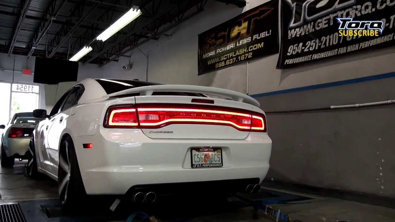 2012 Dodge Charger Modified With Headers And Dyno Tune