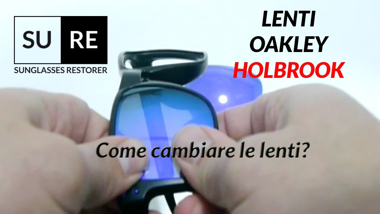 lenti specchiate oakley holbrook