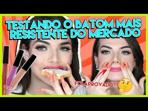 O BATOM MAIS RESISTENTE DO MUNDO? POWER STAY da AVON 💄🤯