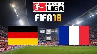 FIFA 18 Deutschland : Frankreich Livestream 🏆 UEFA Nations League Gameplay #DieMannschaft #GERFRA