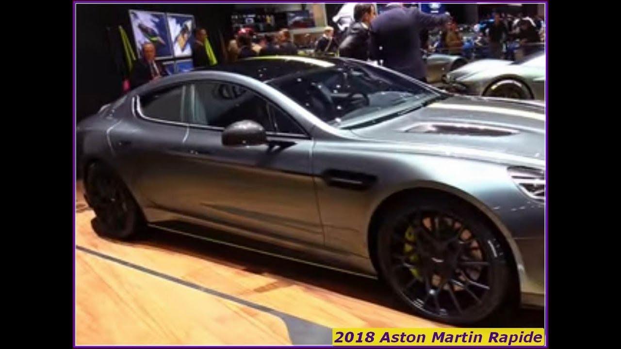 Aston Martin 2018 Rapide Exterior And Interior Walkaround Youtube