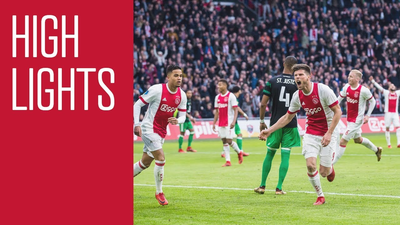 Highlights Ajax - Feyenoord - YouTube