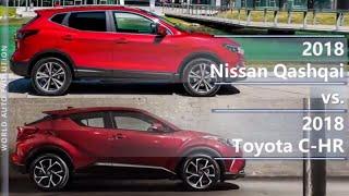 2018 Nissan Qashqai Vs 2018 Toyota C-Hr (Technical Comparison)
