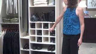 Closet Design Tip - Shoe Storage