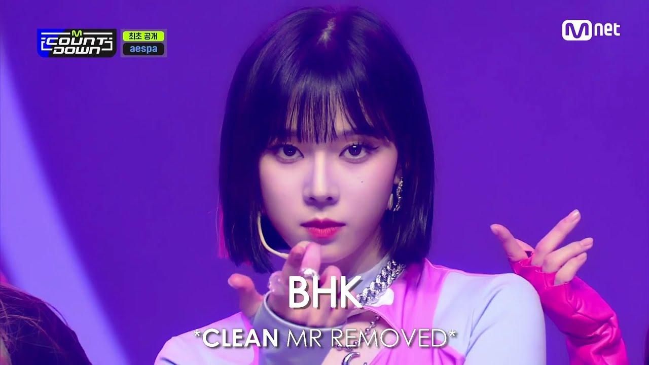 [CLEAN MR Removed] 211014 aespa (에스파) Savage | M COUNTDOWN MR제거