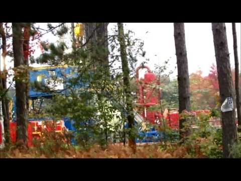 Frack Site and Drilling Site  -  10-1-13
