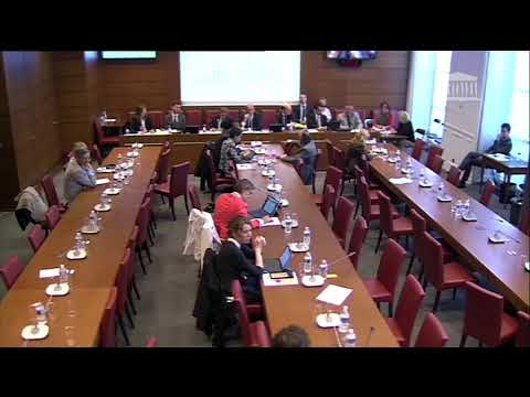 Question en commission des Finances du 20 septembre 2017
