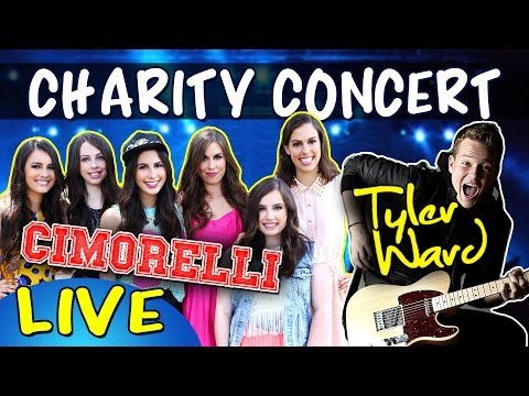 MyMusic Live Charity Concert! (w/ Cimorelli, Tyler Ward, Diamond White, Cossby Sweater & Hey You)