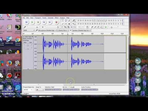 Audacity Digital How To