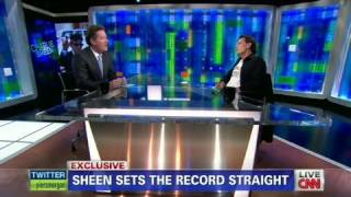 CNN Official Interview: Charlie Sheen is asked on John Stamos as his replacement thumbnail