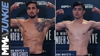 DWCS 23 official weigh in highlight