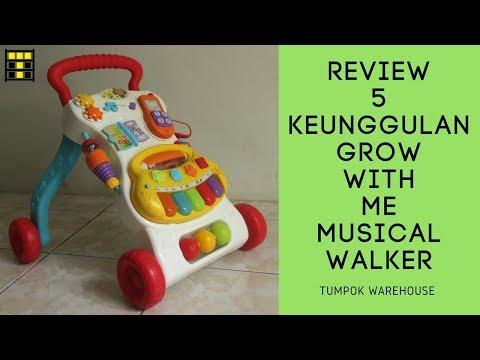 5 KEUNGGULAN GROW WITH ME MUSICAL WALKER [Review WinFun]