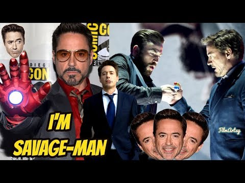 Robert Downey Jr. Savage Moments - Iron Man in Real Life | Try Not To Laugh