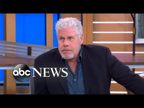 'Sons of Anarchy' star Ron Perlman hilariously shows off his soap opera skills
