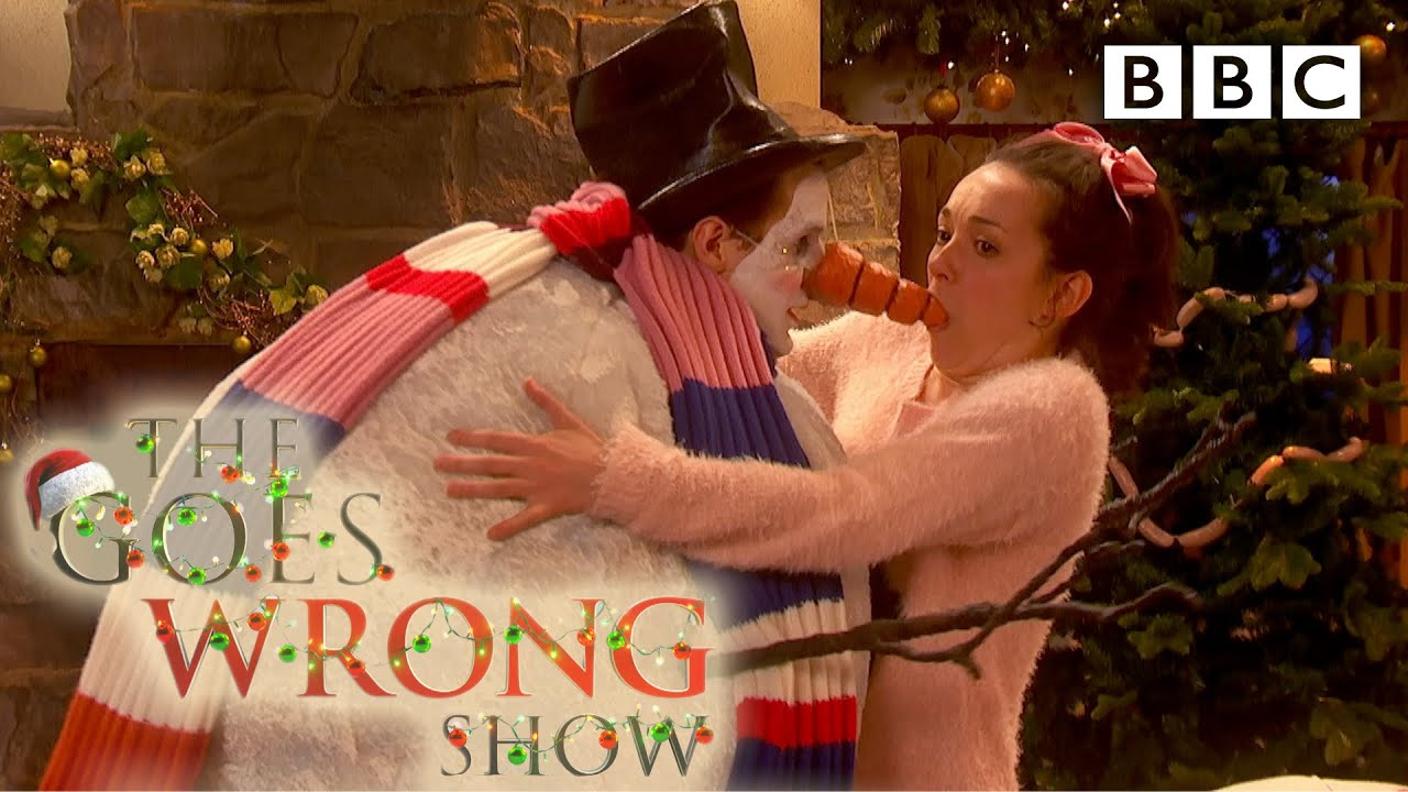 Image result for the goes wrong show