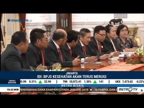 Mengadu Ke Jokowi, Ikatan Dokter Indonesia Resah BPJS Kesehatan Defisit