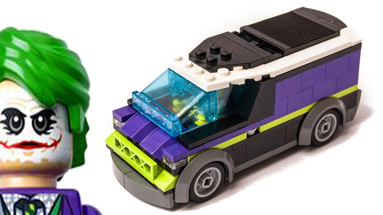 2017 lego city the batman movie joker van car moc youtube. Black Bedroom Furniture Sets. Home Design Ideas