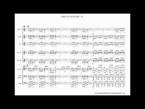 Trombone Solo - Rossini Largo al factotum