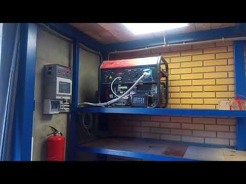 Бензогенератор с системой автозапуска (АВР) Fubag BS7500 A ES (Переход с 380 на 220 вольт)