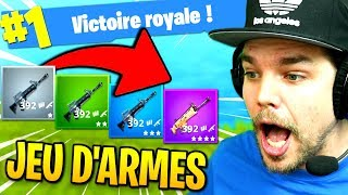 TOP 1 / JEU D'ARMES sur Fortnite: Battle Royale !! thumbnail