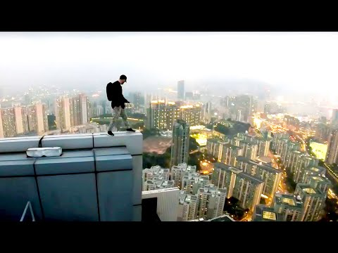 Rooftop Escape BTS - Psycho security KICKS us! 🇭🇰