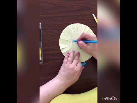 """Поделка """"Солнышко"""" для детей 3-4 лет - YouTube"""