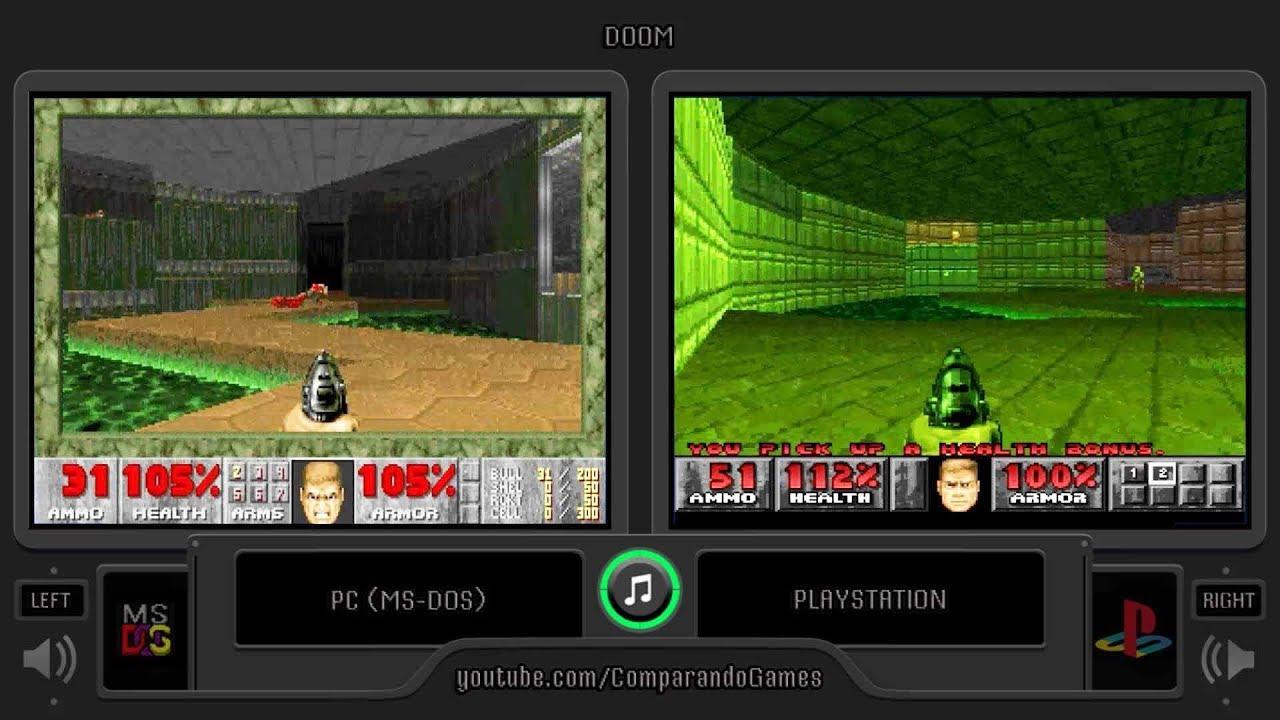 Doom PC vs Doom PSX - Doom General - Doomworld