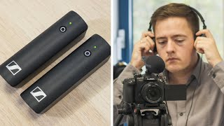 Sennheiser wireless XSW-D filmmaking kit & audio tips
