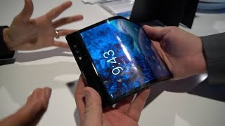 Foldable tablet😱😱 - Live at CES 2019 🔥🔥