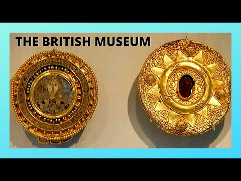 LONDON, The BRITISH MUSEUM, the BYZANTINE Imperial Jewels (6th century AD)