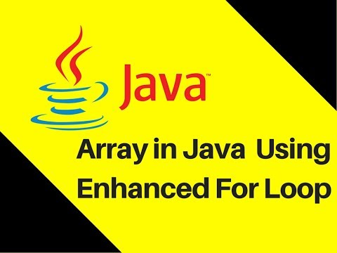 6.5-array-in-java-tutorial-with-example-using-enhanced-for-loop