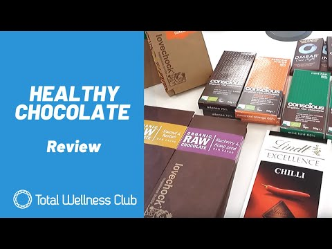 Healthy Chocolate Reviews - Ombar, Conscious Chocolate, Lovechock