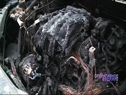 За ночь в Ярославле сгорели четыре авто