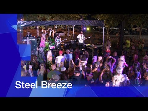 "City of Tracy: Downtown Block Party ""Steel Breeze"" August 25th, 2017"