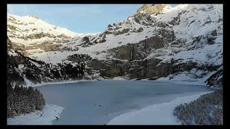 Oeschinensee Winter 2018 4K
