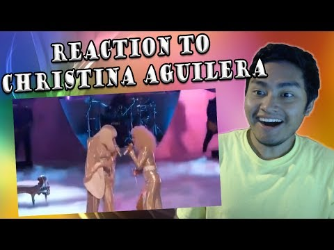 Christina Aguilera And Lady Gaga Live On The Voice - Do What You Want (REACTION)