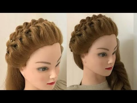 2 Awesome Hairstyle Looks Hairstyles For Small Face Youtube