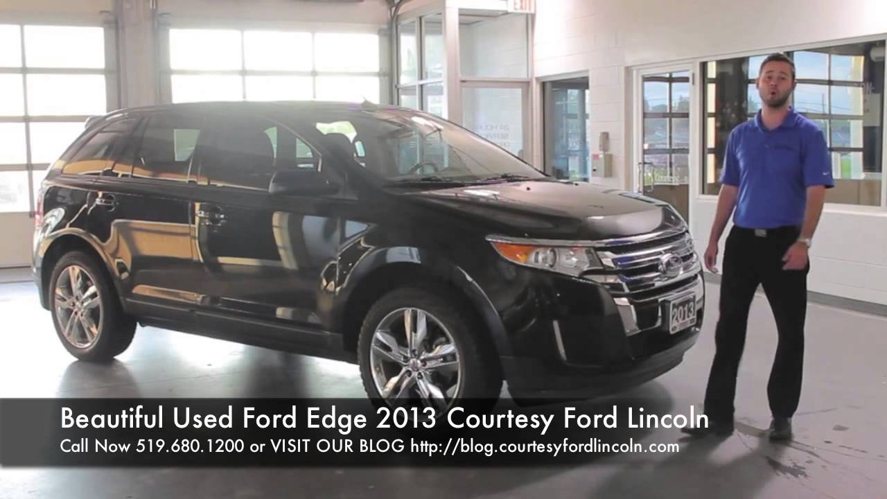Beautiful Used Ford Edge  Ford London Dealers Courtesy Ford Lincoln